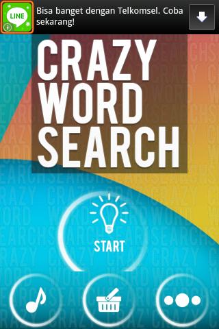 Cari Kata: Crazy Word Search