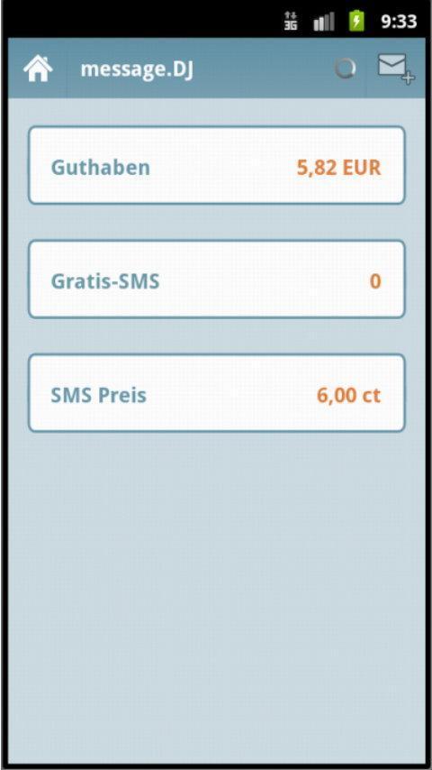 message.DJ - 6ct SMS worldwide- screenshot
