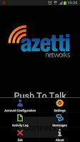 Screenshot of AZT Push to Talk Walky Talky