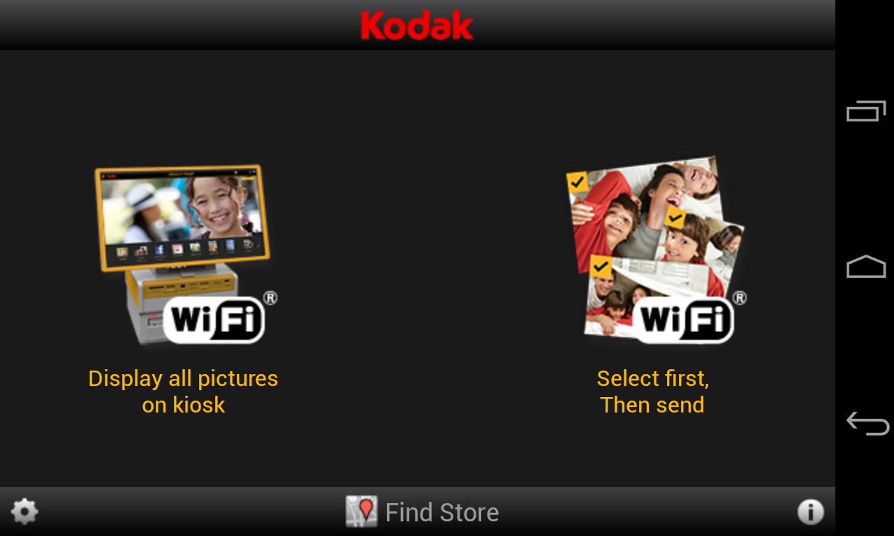 KODAK Kiosk Connect- screenshot