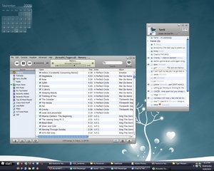 MSN Messenger Mac Theme