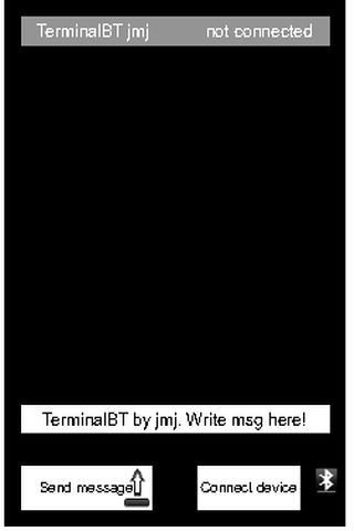 TerminalBT - screenshot