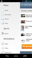 Screenshot of WCF Courier
