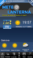 Screenshot of Meteolanterna