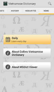 Collins Vietnamese DictionaryT - screenshot thumbnail