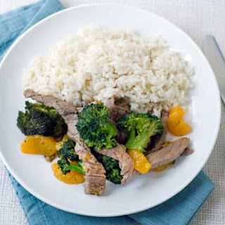 Gluten Free Orange Beef & Broccoli