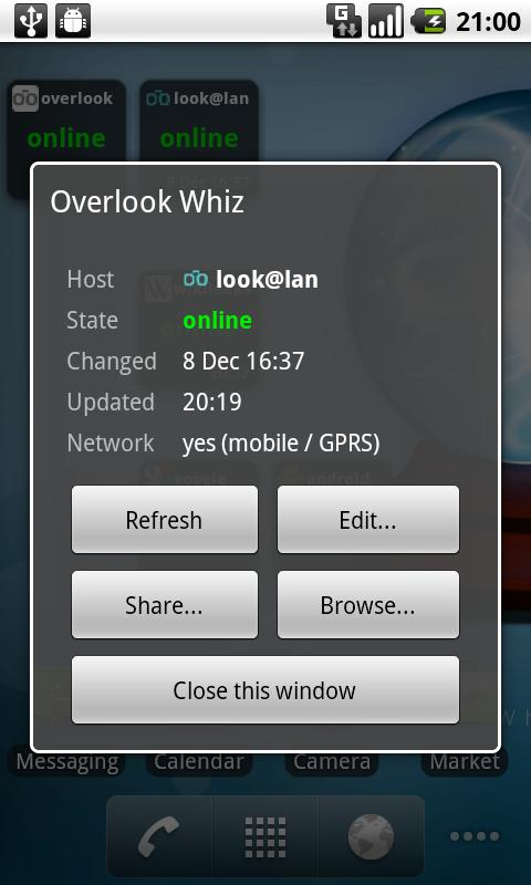 Overlook Whiz- screenshot