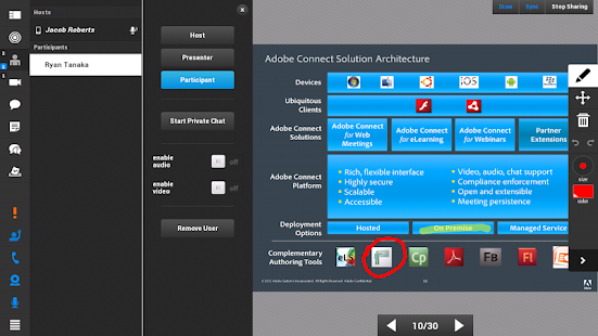 Adobe Connect- miniatura screenshot