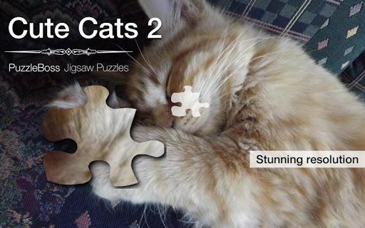 More Cute Cat Jigsaws Demo