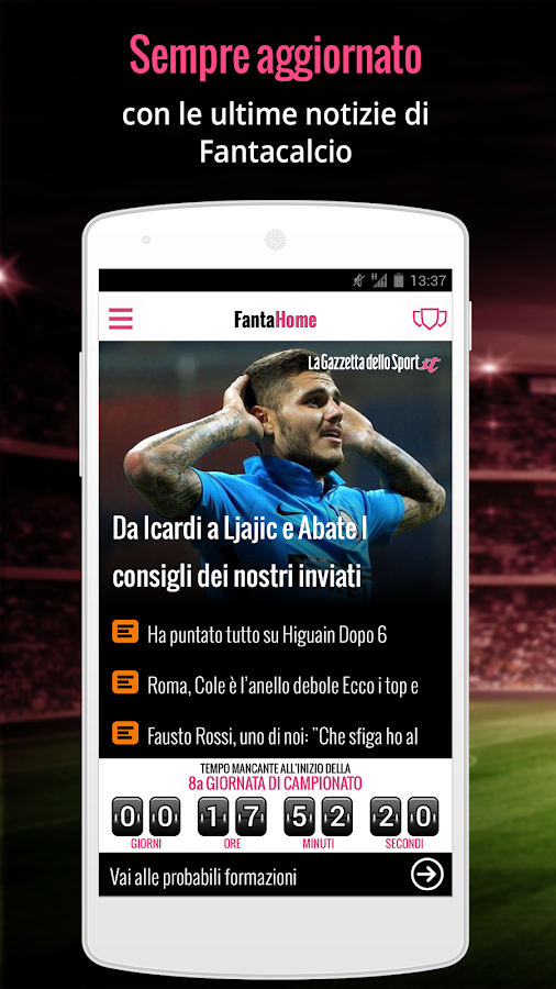 FantaNews- screenshot