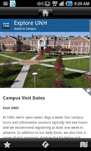 Explore UNH- screenshot thumbnail
