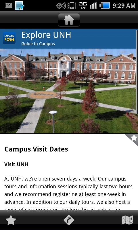 Explore UNH- screenshot