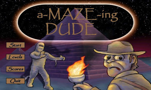 a-MAZE-ing Dude Top Free Game