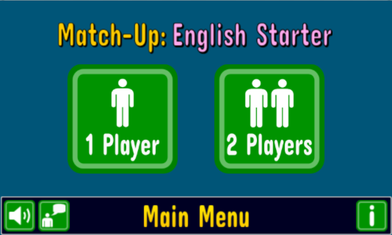 Match Up Learn English Words - screenshot