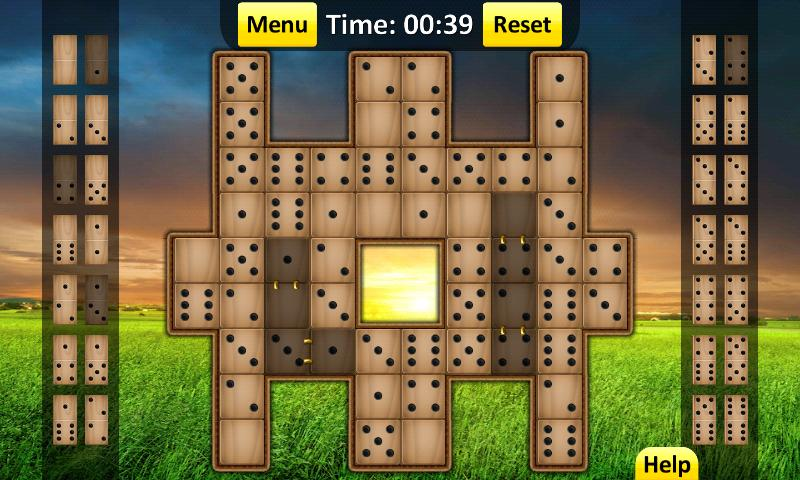 Domino Solitaire - screenshot