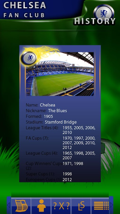 Chelsea Fan Club - screenshot