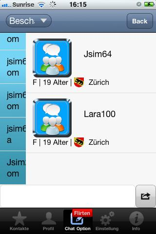 jCom Chat USA - screenshot