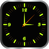 Glowing Clock Locker - Green