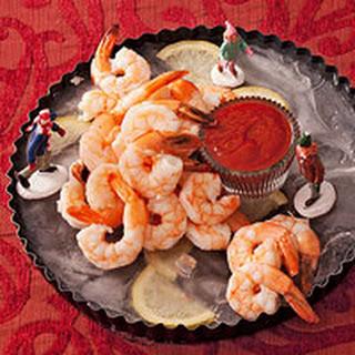 Holiday Shrimp on Ice