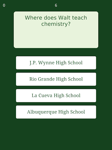 【免費益智App】Trivia for Breaking Bad-APP點子