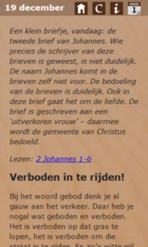 Gaandeweg Hem tegemoet - screenshot