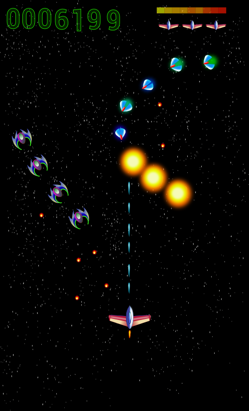 MG3 Space shooter - screenshot