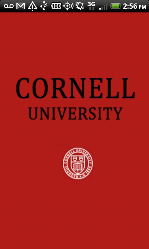 Cornell University - screenshot