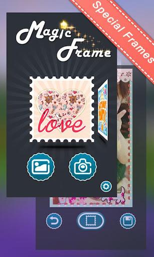 無料摄影AppのValentine Theme MagicFrame|記事Game