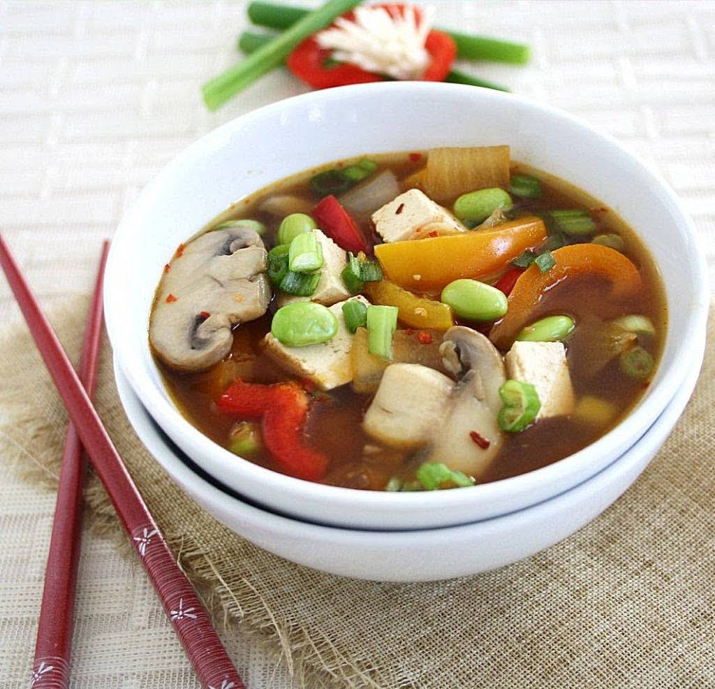 Fully Loaded Miso Soup {Protein Rich, Vegan}