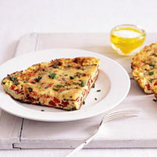 Pastrami-Tomato Frittata