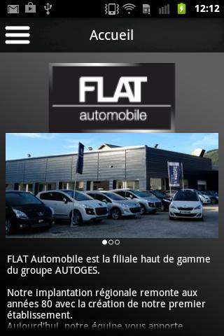 FLAT automobile
