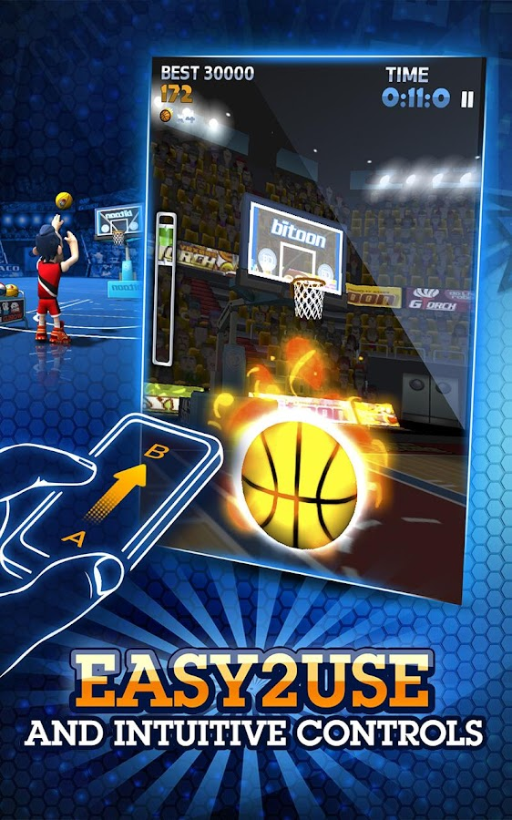 BasketDudes 3P Shotduel - screenshot