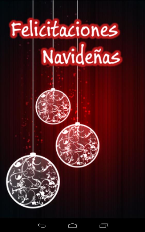 Felicitaciones navideñas - screenshot