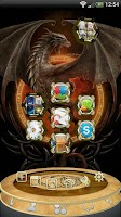 Screenshot of Next Launcher Dragon Theme