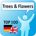 100 Trees & Flowers Keywords logo