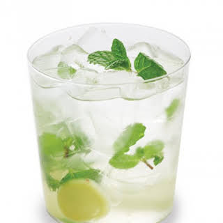 Mint-Ginger Caipiroska.