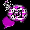 GO SMS THEME/GirlyHalloween icon