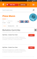 Screenshot of Lieferservice.at