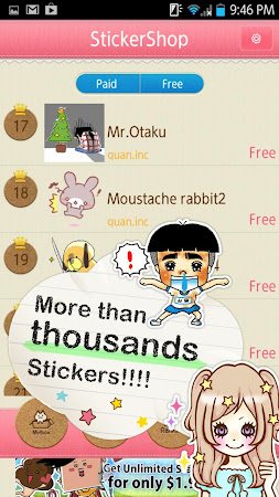 Sticker Shop for LINE Facebook 1.1.0 screenshot 1331490