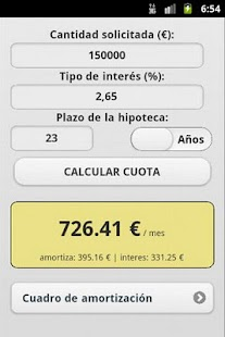 Calculadora Hipoteca- screenshot thumbnail