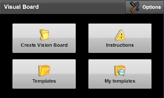 Screenshot of Vision Board PRO