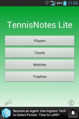 TennisNotes Lite