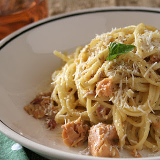 "Smoked Salmon ""Carbonara"""