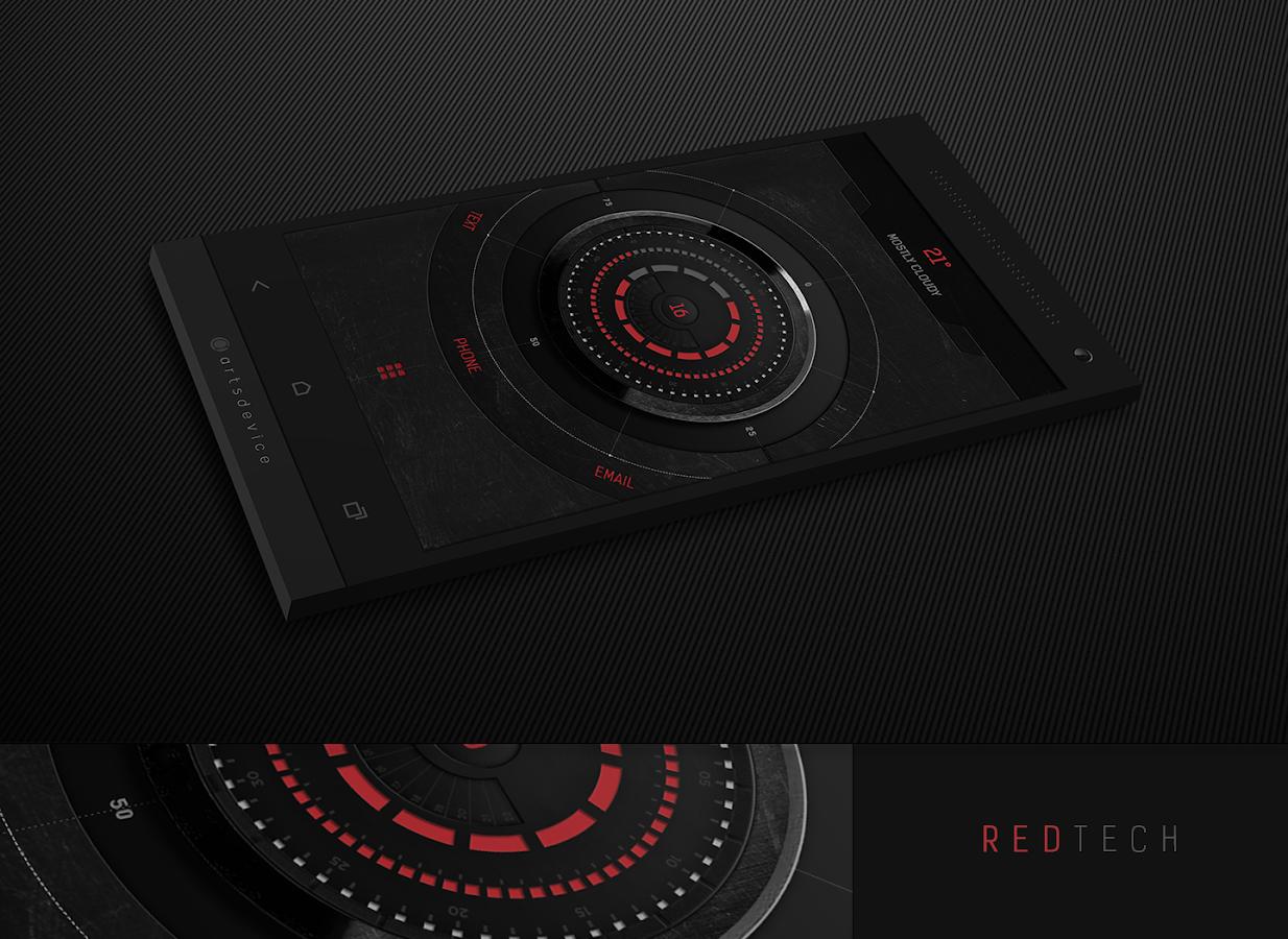 RedTech (by GaRyArTs) - screenshot