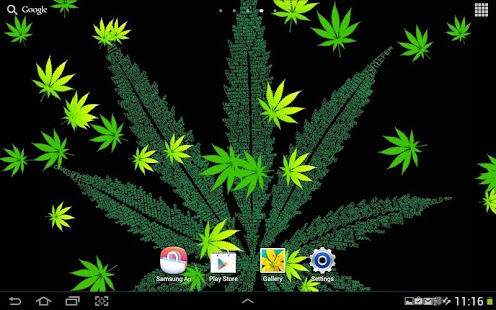 weed live wallpaper android appcrawlr