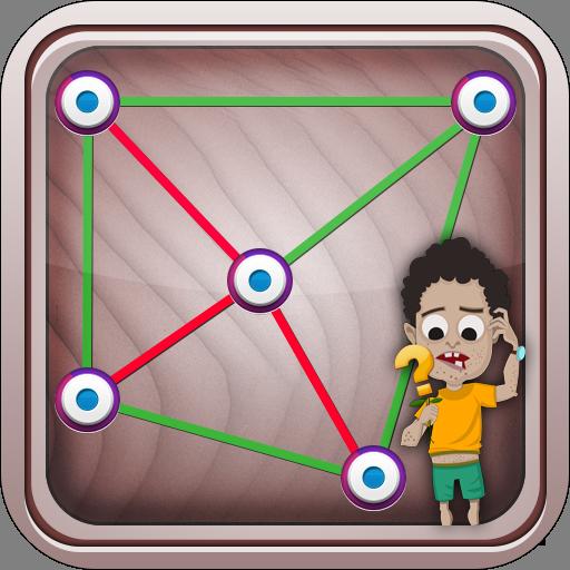 Line Puzzle : Check IQ LOGO-APP點子