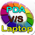 PDA V/S Laptop Manual