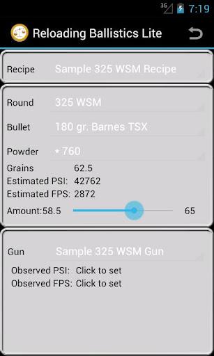 325 Winchester SM Ballistics