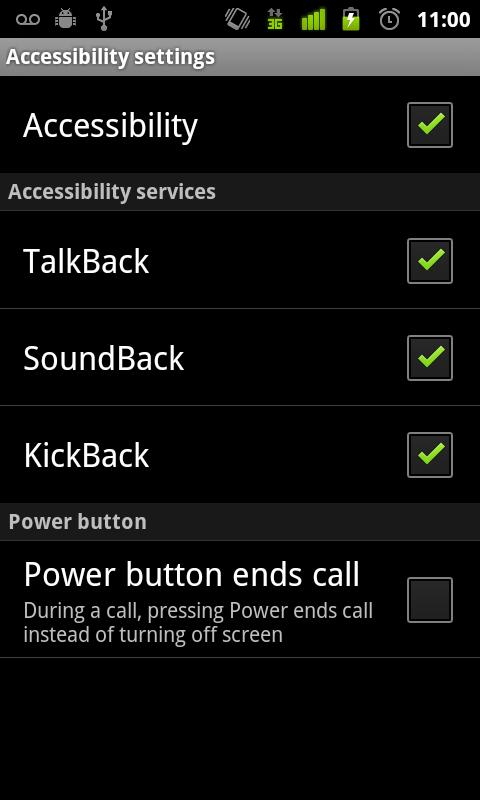 SoundBack - screenshot