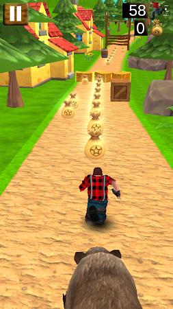 Danger Runner 3D Bear Dash Run 1.5 screenshot 1646783